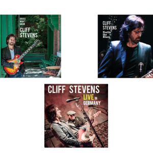 Cliff Stevens 3 Albums for One Low Price!