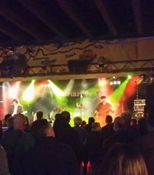 2014 European Tour with Wishbone Ash