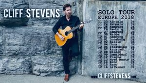 Cliff Stevens Solo European Tour 2018